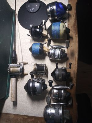 Assorted fishing reels for Sale in Boonville, IN