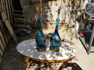Table and lamps for Sale in Midvale, UT