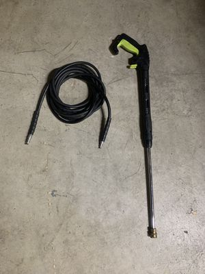 Pressure washers hose & gun high Pressure in excellent condition for Sale in Hemet, CA
