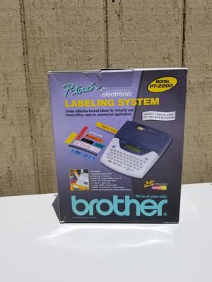 NEW BROTHER P-TOUCH LABELING SYSTEM MODEL PT-2200 for Sale in Pomona, CA