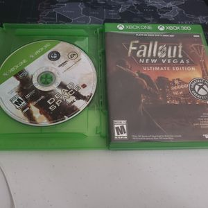 Xbox One 360 Games Fallout New Vegas Dead Space 3 for Sale in Hemet, CA