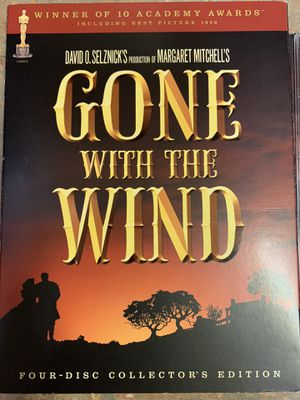 Gone With The Wind Collectors Edition 4 Disc Box Set for Sale in Tampa, FL
