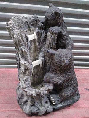 Bear statue water fountain for Sale in Oak Lawn, IL