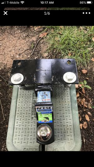 REESE Towing Starter Kit, Class III, Ball/Mount/Pin, 6,000-Lb. Capacity for Sale in San Diego, CA