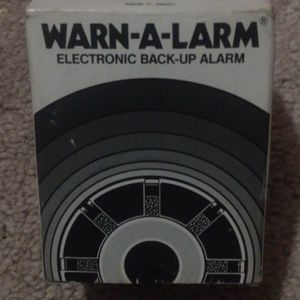 Warn-A-Larm - Electronic Backup Alarm - 12VDC, 112dB for Sale in Portland, OR