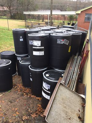 Barrels with open lids for Sale in Nashville, TN