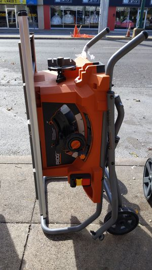 Ridgid table saw with stand for Sale in Dallas, TX