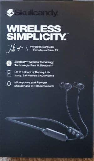 wireless headset skullcandy for Sale in Apple Valley, CA