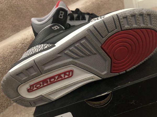 Air Jordan 3 OG Black / Cement Grey 2018 Retro
