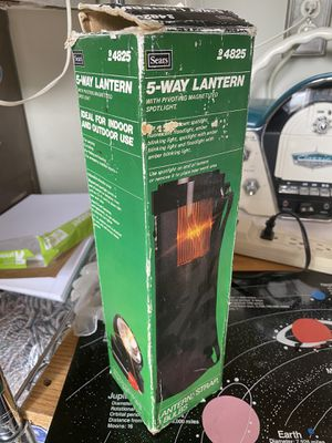 5 way lantern with pivoting magnetic spotlight for Sale in Hayward, CA