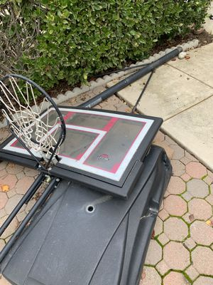 Basketball Hoop for sale. All parts are accounted for. Yours for $100 for Sale in Fresno, CA