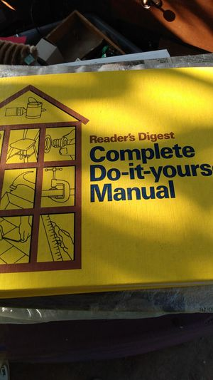 Reader's digest complete do-it-yourself manual for Sale in Sacramento, CA