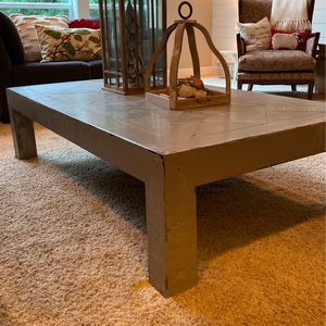 Large Coffee Table - French Grey for Sale in Sherwood, OR