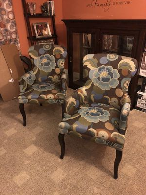 Two Pier one chairs for Sale in Simpsonville, SC