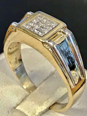 Diamond man's ring for Sale in Wyandotte, MI