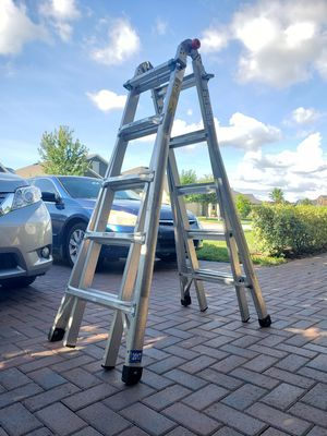 22' Multiposition Aluminum Ladder for Sale in Lutz, FL