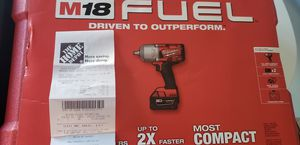 "Milwaukee 2767-22 m18 fuel 1/2"" impact wrench with friction ring. for Sale in Sully Station, VA"