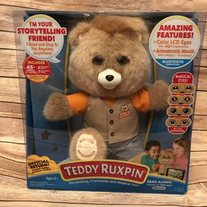 Teddy Ruxpin Official Return of the Storytime Brown Bear for Sale in Green Bay, WI