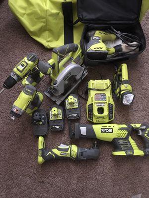 Ryobi One tool set for Sale in Tacoma, WA