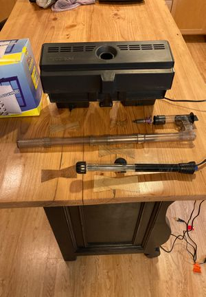 Aquarium Filter and Heater - $10 Price Reduction 11/30 for Sale in Seattle, WA