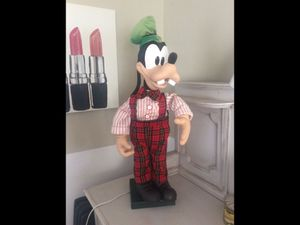 """Vintage DISNEY Christmas Goofy 30"""" ANIMATED MUSICAL Telco Motionette 1996 WORKS for Sale in Walnut, CA"""