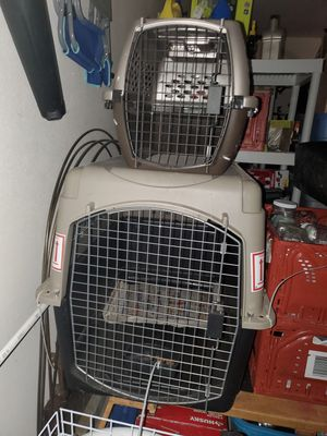 Travel dog crates for Sale in Bakersfield, CA
