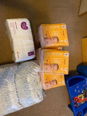 Size 1 diapers for Sale in Manteca, CA