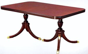 Mahogany Duncan Phyfe Dining Room Table 1940's for Sale in Gambrills, MD
