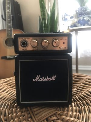 Marshall MS-2 Guitar Amp for Sale in Camp Hill, PA