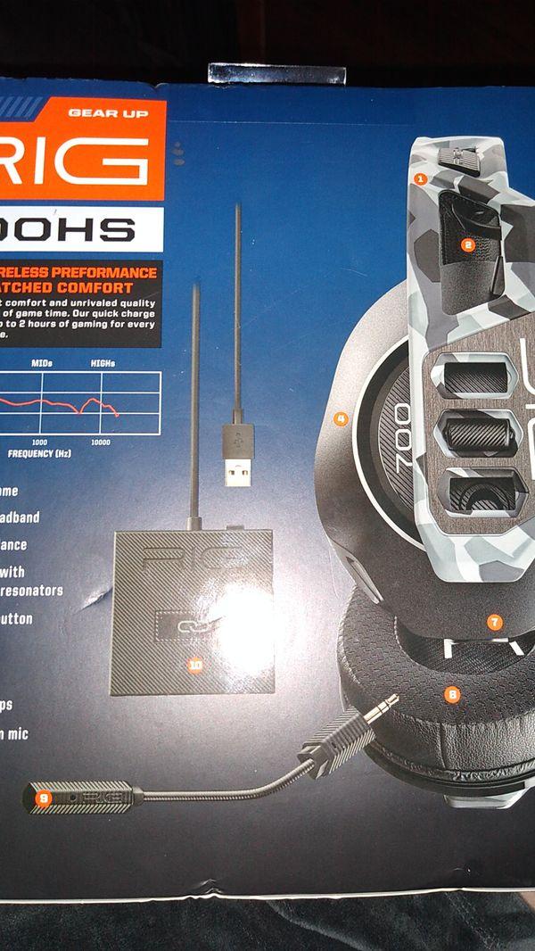 Brand new RIG 700 hs gaming headphones