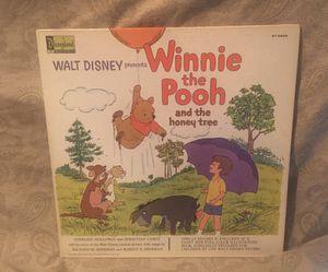 Walt Disney Winnie the Pooh Vinyl LP Album for Sale in Barrington, IL