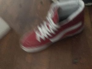 Red High top vans for Sale in Allentown, PA