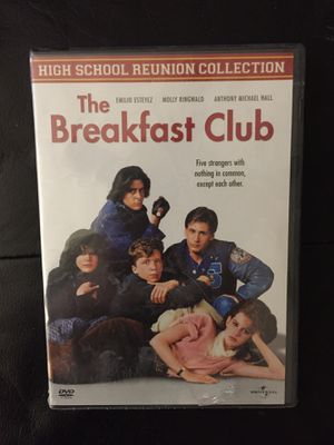 The Breakfast Club on DVD for Sale in Webster, NY