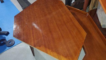 Stanley Corner Desk, Solid wood and Venir mix for Sale in Berryville,  VA