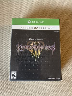 Xbox one Kingdom Hearts III deluxe edition for Sale in Richardson, TX