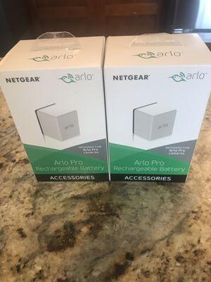 Arlo Pro Rechargeable Batteries for Sale in Bellevue, WA