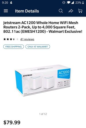 Wifi mesh router system for Sale in Hillsboro, OR