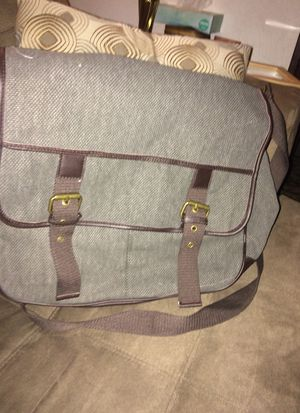 Gray Journeys messenger Bag New for Sale in Pittsburgh, PA