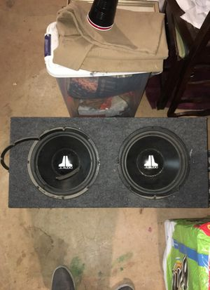 12 in subwoofer box for Sale in North Bethesda, MD