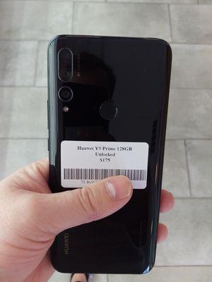 Huawei Y9 Prime 128GB Unlocked for Sale in Las Vegas, NV