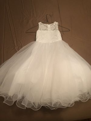 Flower girl dress size 3 for Sale in Rancho Cucamonga, CA