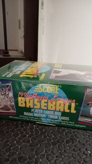 Unopened baseball cards for Sale in Fall City, WA