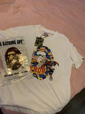 Bape x Marvel Thor Collab Tee shirt for Sale in Austin, TX