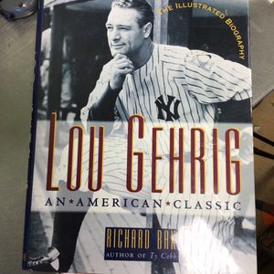 Lou Gehrig book for Sale in Matawan, NJ
