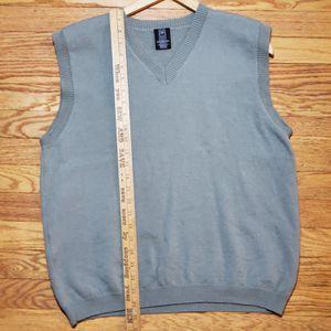 Nike Golf Sweater Vest Sleeveless V-Neck Size Large Olive100% Merino Wool for Sale in La Grange Park, IL