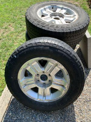 2013 Chevy Silverado 6 lug rims/ wheels for Sale in Westford, MA