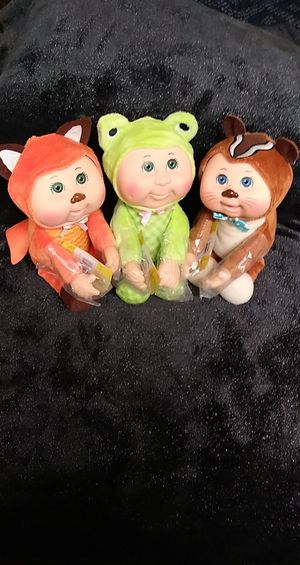 Cabbage Patch Woodland Friends Collectible Cuties for Sale in Jacksonville, AR