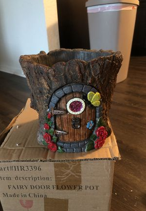 Fairy door flower pot for Sale in Lexington, KY