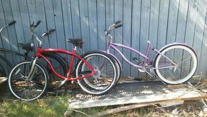 Mountain bike road bike and Beach cruisers for sale for Sale in Los Angeles, CA