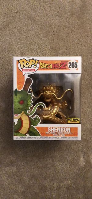 "Funko POP! Shenron Gold Chrome 6"" Hot Topic Exclusive for Sale in Alexandria, VA"